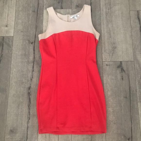 Forever 21 Dresses & Skirts - F21 color block dress. Size large.